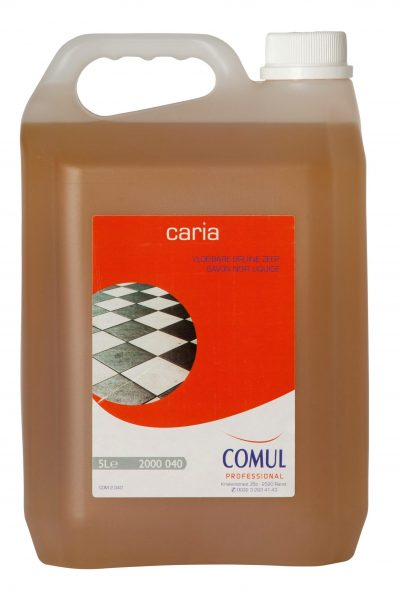 Caria bruine vloerzeep 5l