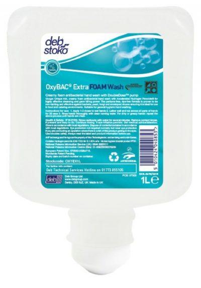 Oxybac foam wash 6x1l