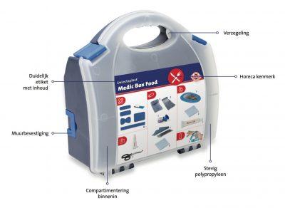 Medic box food 225x235x100mm