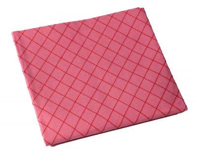 Vileda glazenzeem roze 55x49cm 3 stuks
