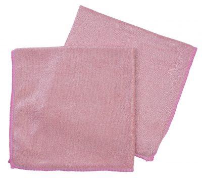 Microvezeldoek 54gr roze 10 stuks
