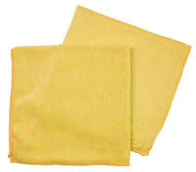 Microvezeldoek 54gr geel 10 stuks