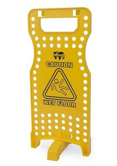 Wet floor sign geel