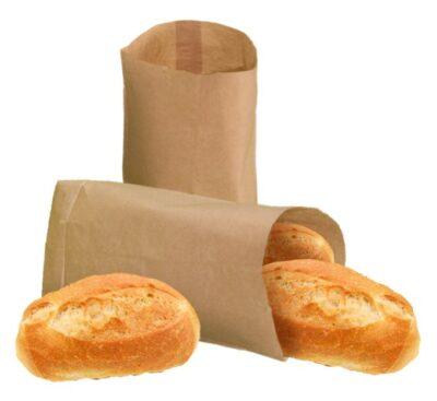 Broodjeszakje bruin 1000 stuks