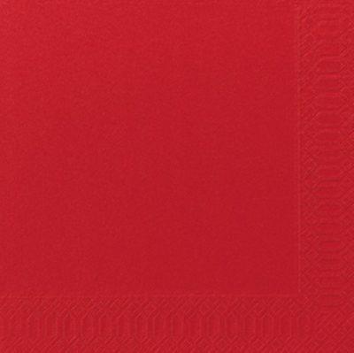 Servetten rood 40x40 2-laags 16x125 stuks