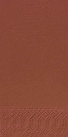 Servetten chestnut 40x40 3-laags 1-8 1000 stuks