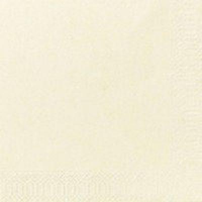 Servetten buttercream 24x24cm 2-laags 8x300 stuks