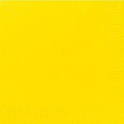 Servetten geel 24x24cm 2-laags 8x300 stuks