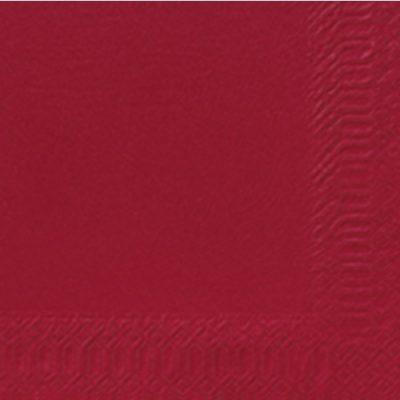 Servetten bordeaux 24x24cm 2-laags 8x300 stuks