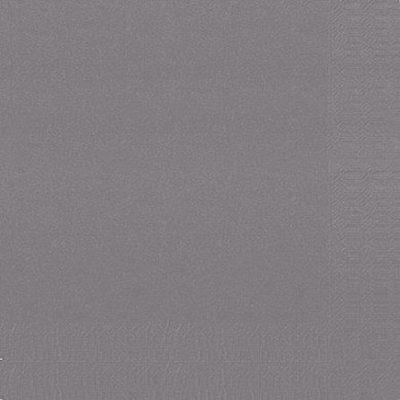 Servetten granite grijs 24x24cm 2-laags 1200 stuks