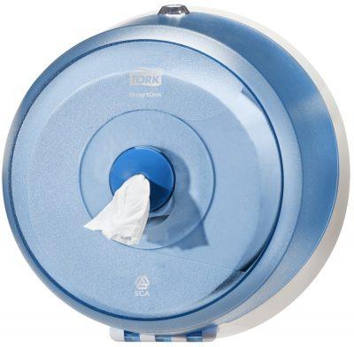Smartone toiletdispenser lotus blauw