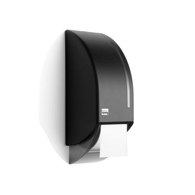 Toiletroldispenser satino black