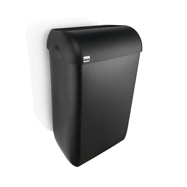 Afvalbak 43l satino black