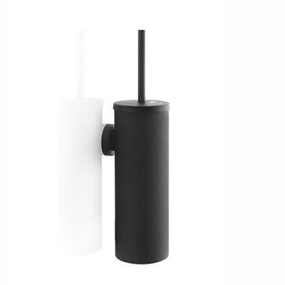 Toiletborstelgarnituur satino black