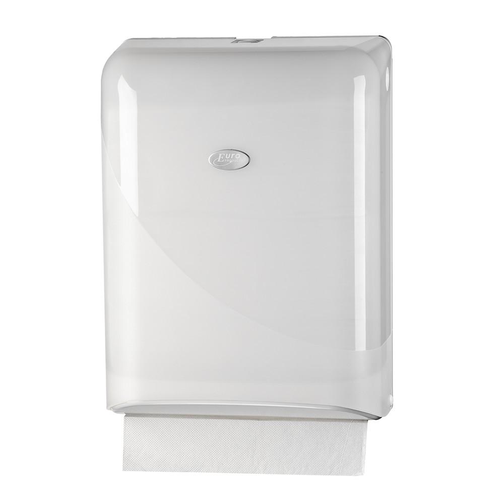 Euro pearl white handdoek dispenser z-vouw