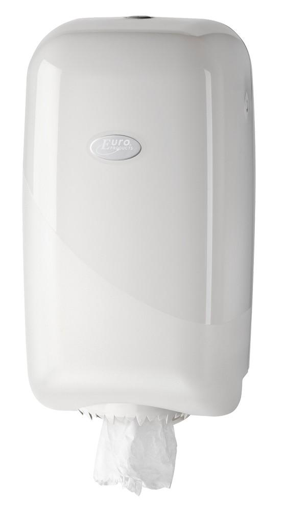 Euro pearl white mini dispenser