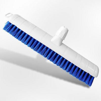 Schuurborstel medium blauw 50cm