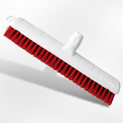 Schuurborstel medium rood 40cm