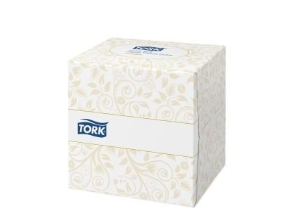 TORK & SOFT FACIAL TISSUE CUBE 30X100 STUKS