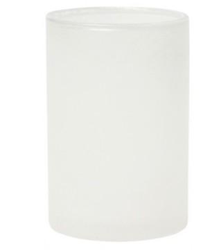 CANDLE HOLDER ICE WHITE 8ST