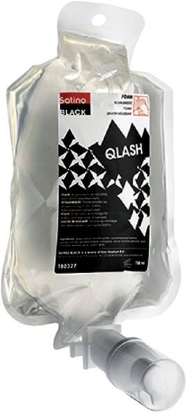 Foamsoap qlash satino black 6x750ml