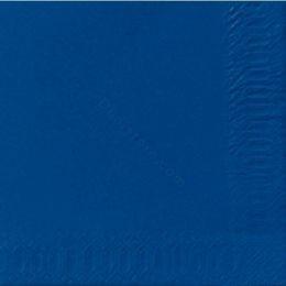 SERVETTEN DARK BLUE 40X40 2PL.10X125ST