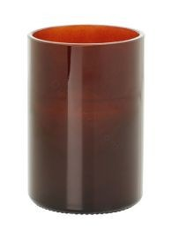 CANDLEH.GLASS 120X80 AWARE BOT.BROWN 6ST